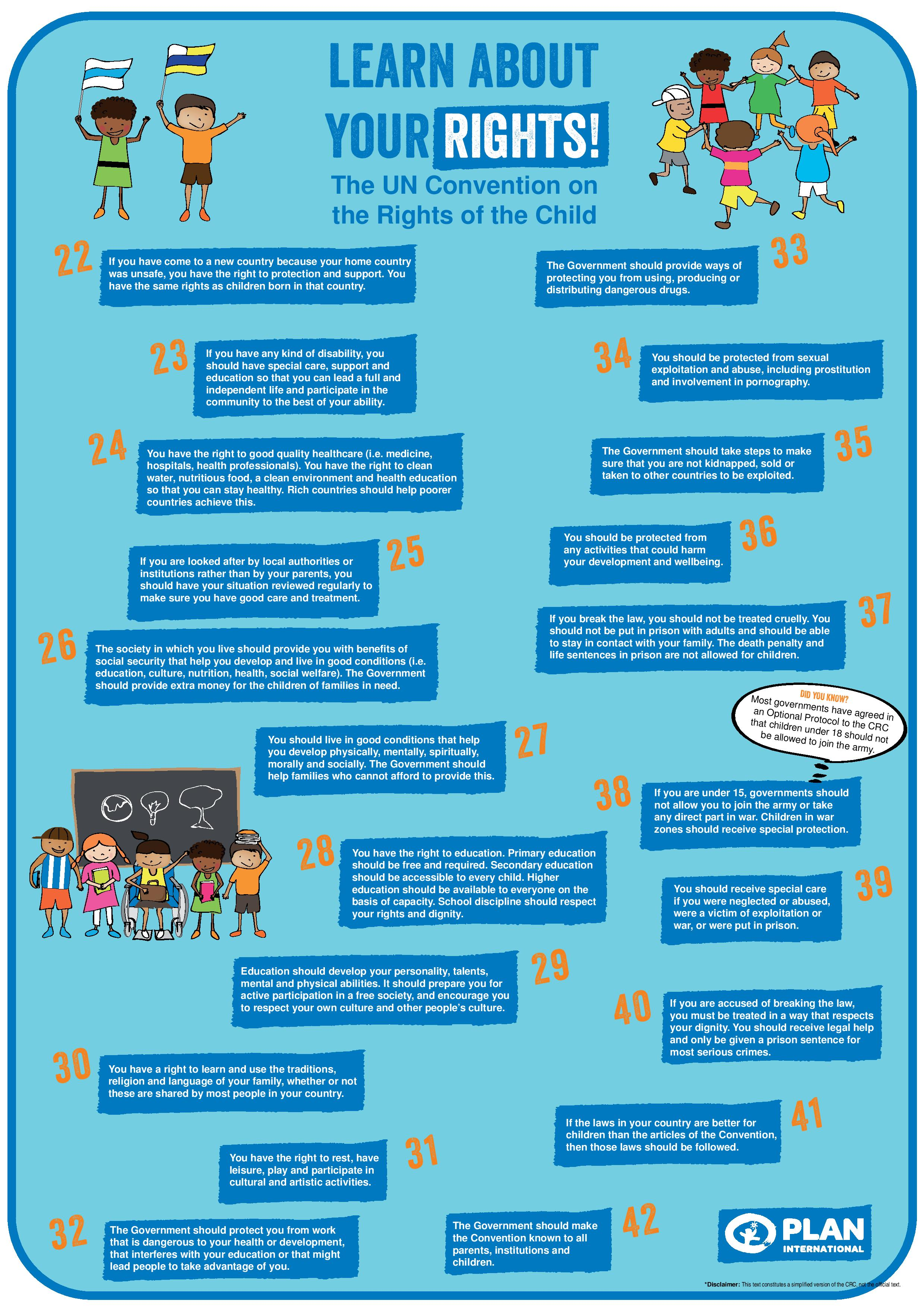 Uncrc Child Friendly Versions Child Rights Coalition Asia