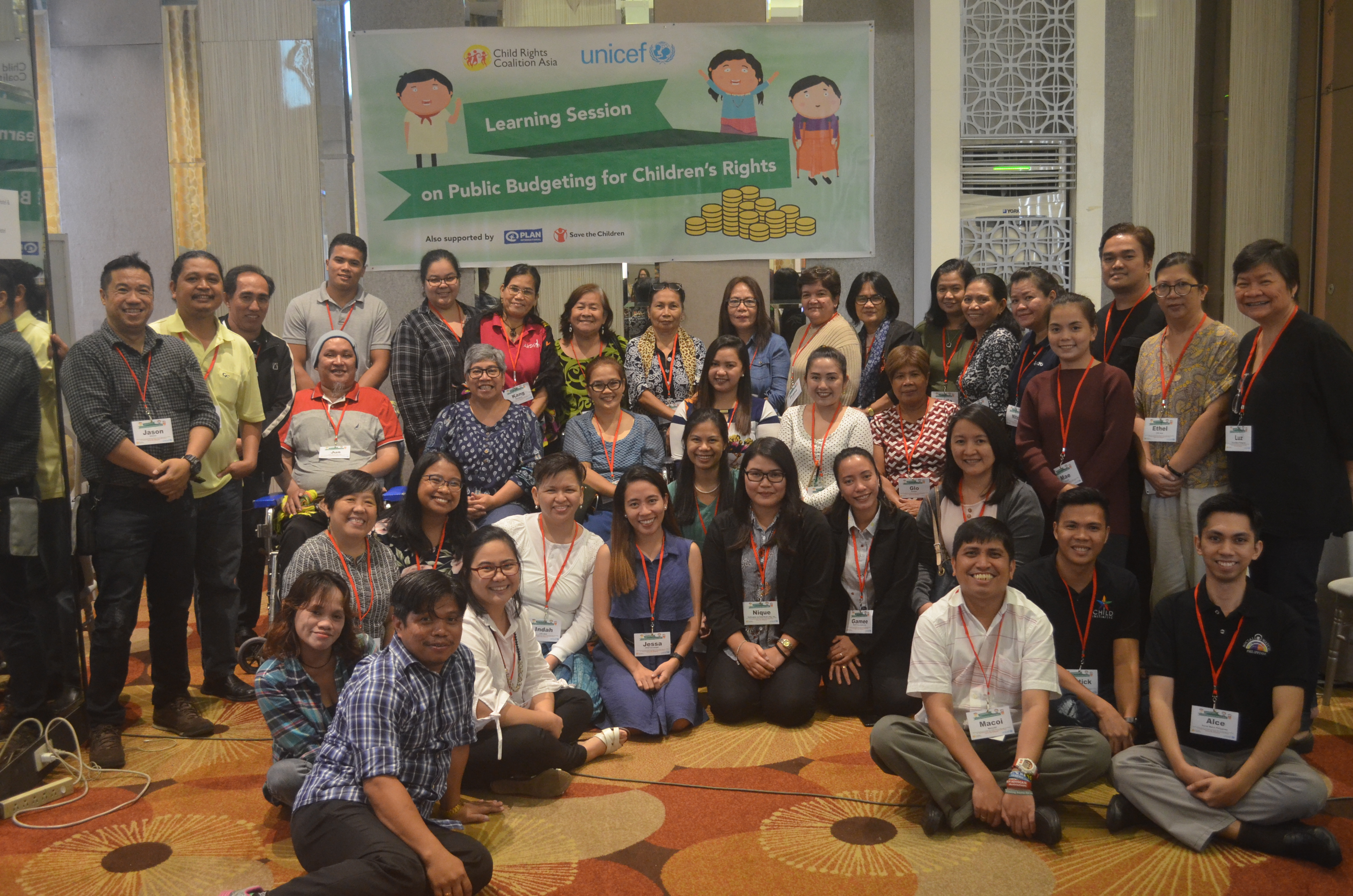 Third Learning Session on Public Budgeting for Children's